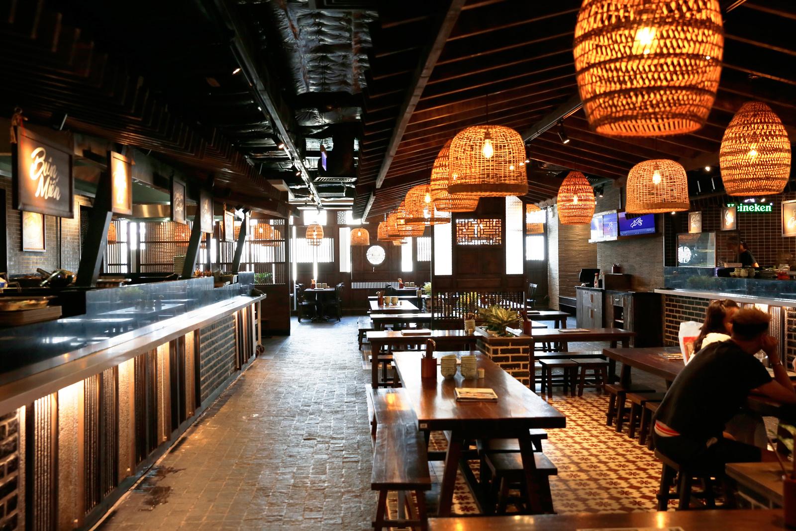 Dự án nhà hàng PHỐ 37 - SAIGON CENTRE