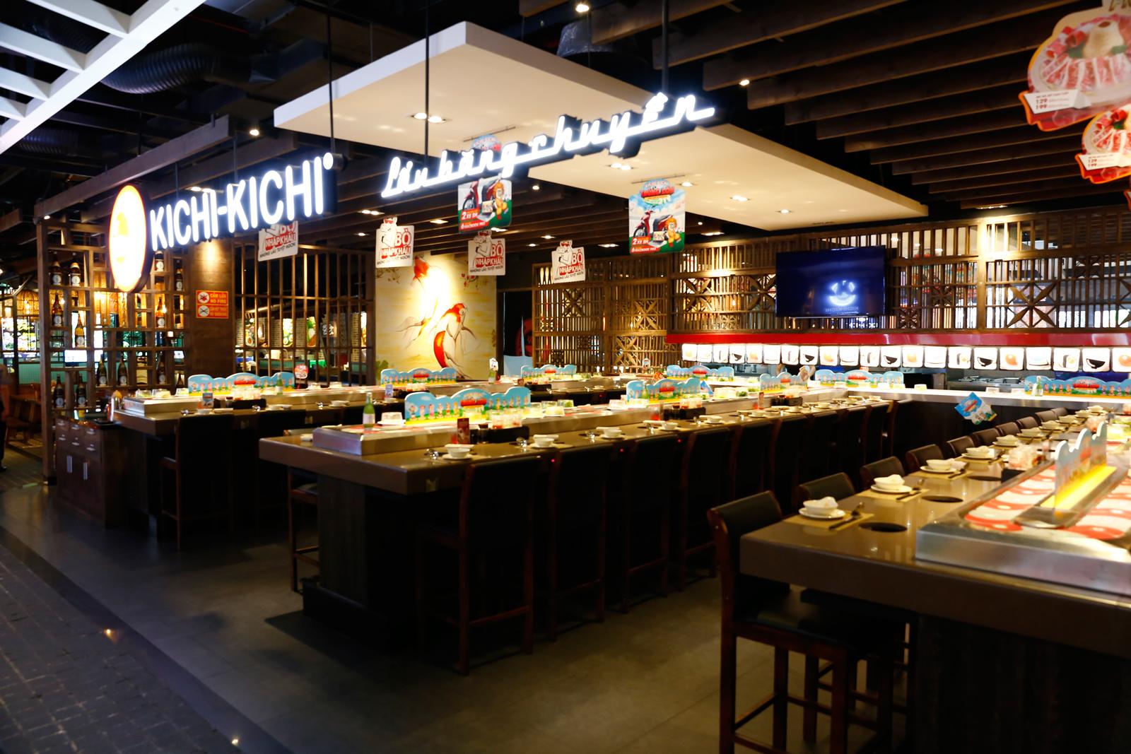 Dự án nhà hàng KICHI - ASIAN CORNER