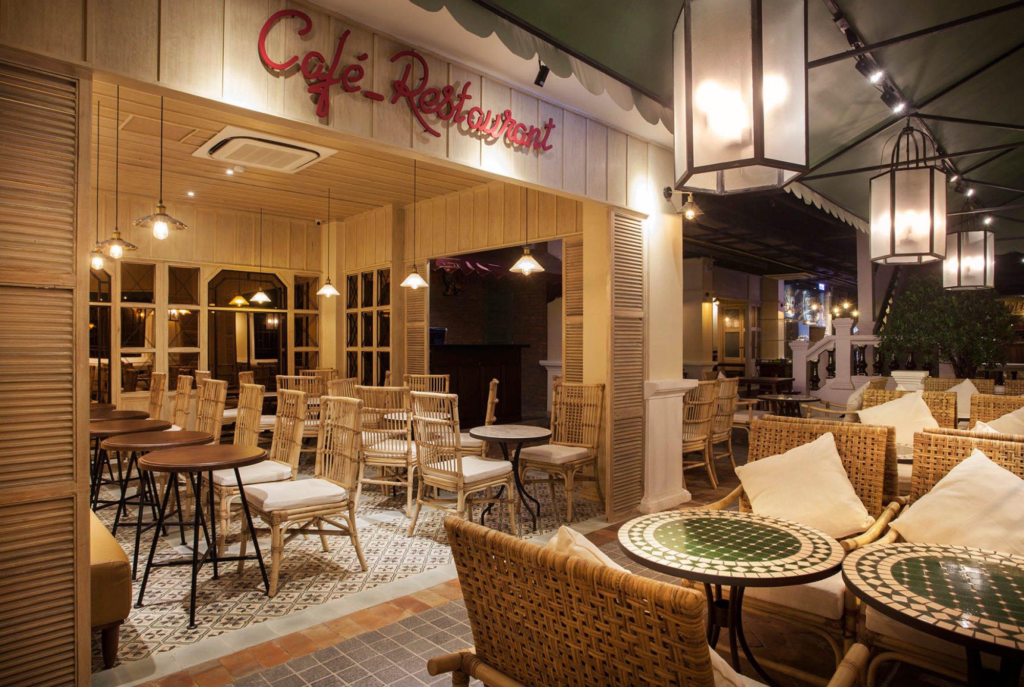 Dự án nhà hàng 12A Nguyễn Huệ